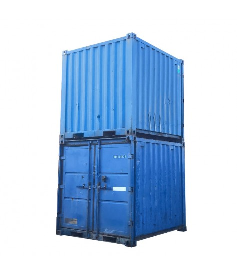 Stål-container 8 fod